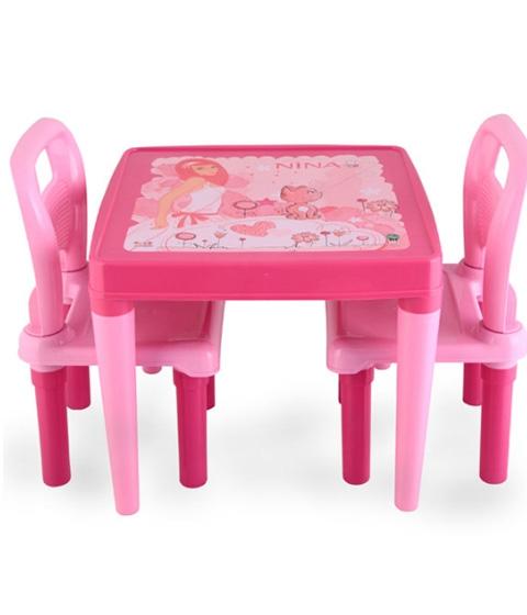 Scaune Din Plastic Pentru Copii.Masuta Cu Doua Scaune Copii Pilsan 03414 Dimisport Ro