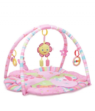 Covoras de joaca bebe Happy flower - 8068