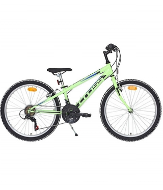Bicicleta copii Speedster Steel 24 - verde