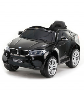 Jeep electric copii BMW X6M - JJ2199 negru