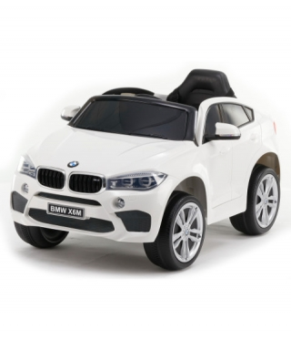 Jeep electric copii BMW X6M - JJ2199 alb