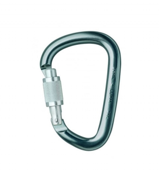 Carabinera PETZL William Screw-lock