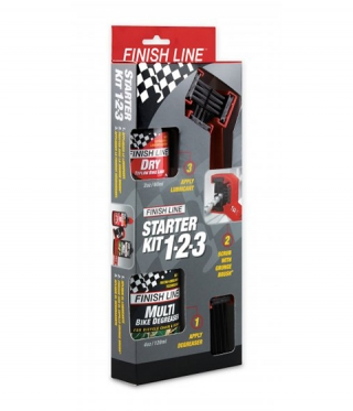 Kit curatare lant Finish Line Starter Kit 1-2-3™