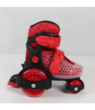 Patine cu rotile copii Little Beetle Red Boy
