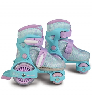 Patine cu rotile copii Little Beetle Frozen Girl