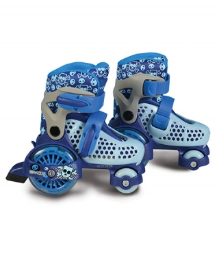 Patine cu rotile BYOX Little Beetle Blue Boy