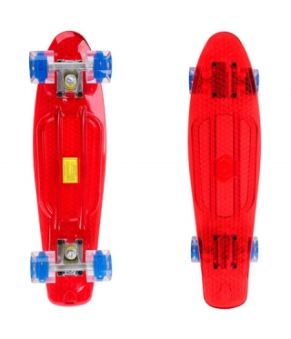 Pennyboard Maronad Retro Transparent W