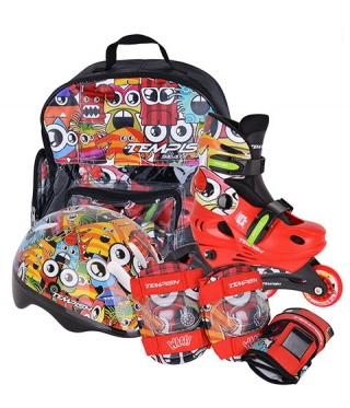 Set role copii TEMPISH Baby Skate Monster