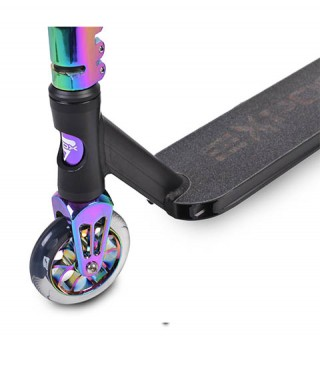 Trotineta freestyle BYOX Stunt Expose multicolor